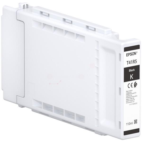 Original Epson C13T41R540 / T41R5 Tintenpatrone schwarz 110 ml