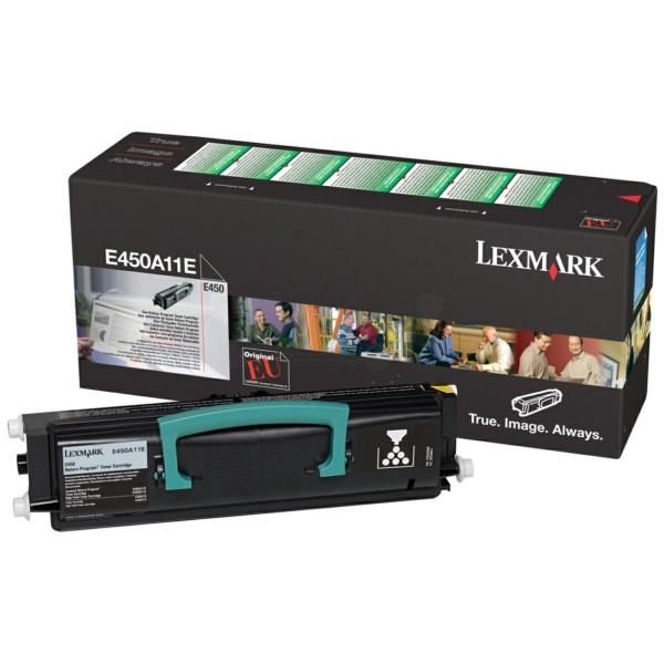 Original Lexmark E450A11E Toner-Kit return program 4.000 Seiten