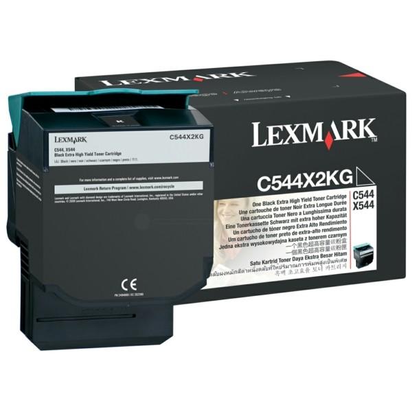 Original Lexmark C544X2KG Toner schwarz 6.000 Seiten