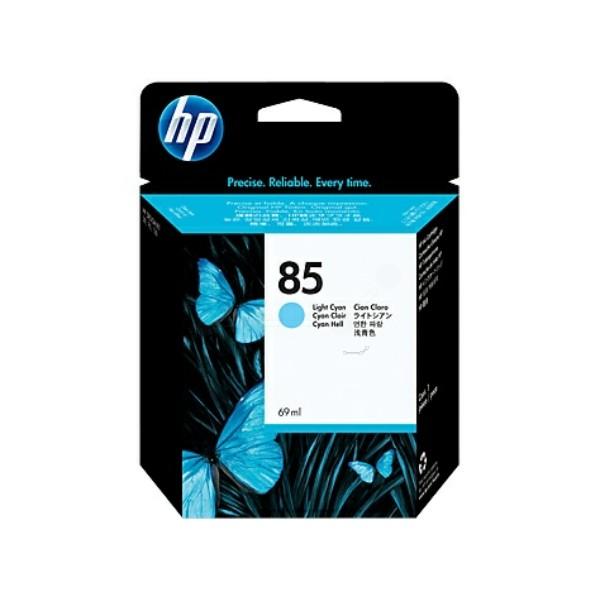 Original HP C9428A / 85 Tintenpatrone cyan hell 69 ml