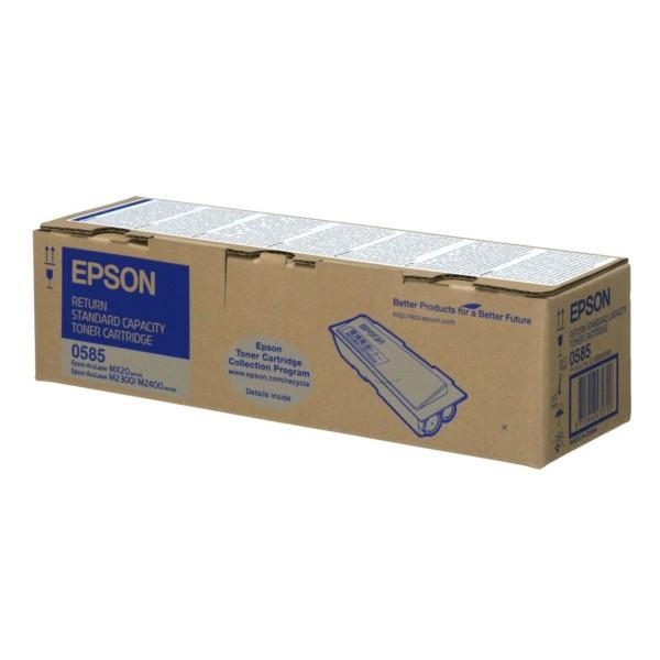 Original Epson C13S050585 / 0585 Tonerkartusche schwarz return program 3.000 Seiten