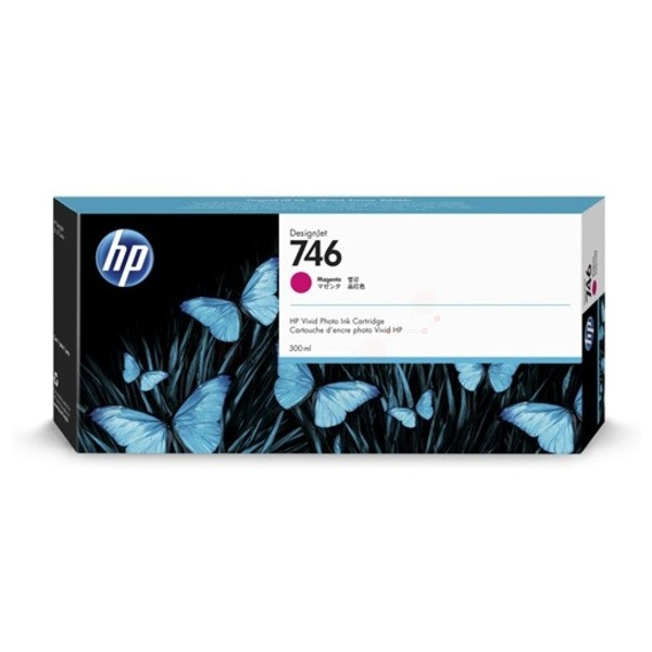Original HP P2V78A / 746 Tintenpatrone magenta 300 ml