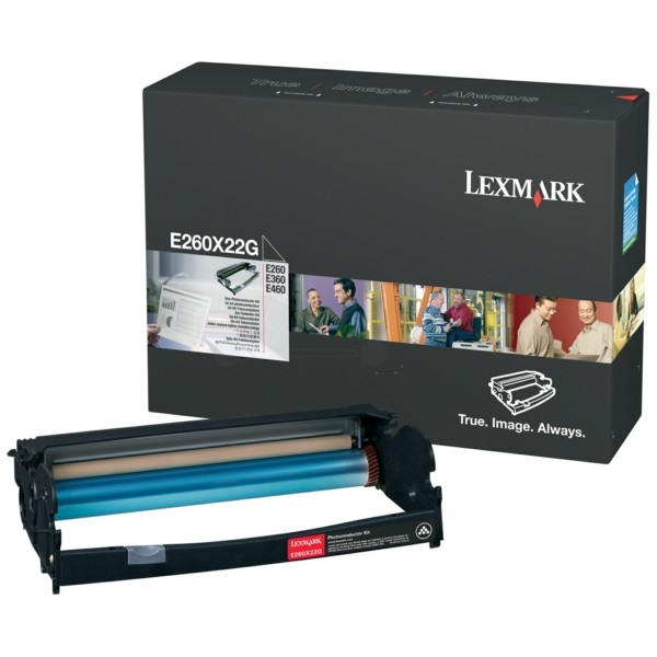 Original Lexmark E260X22G Drum Kit 30.000 Seiten