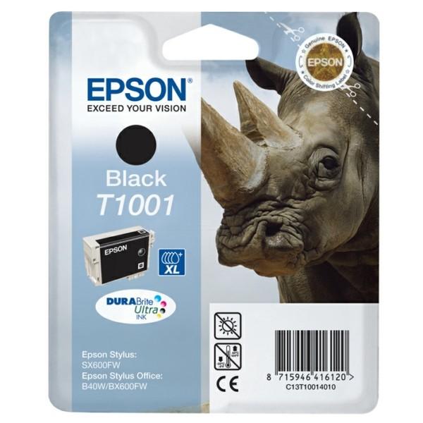 Original Epson C13T10014010 / T1001 Tintenpatrone schwarz 25,9 ml 995 Seiten