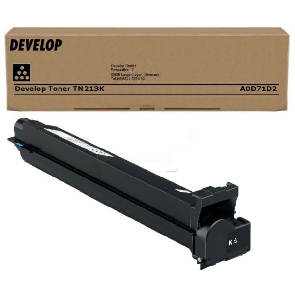Original Develop A0D71D2 / TN-213 K Toner schwarz 24.500 Seiten