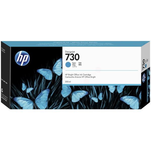 Original HP P2V68A / 730 Tintenpatrone cyan 300 ml