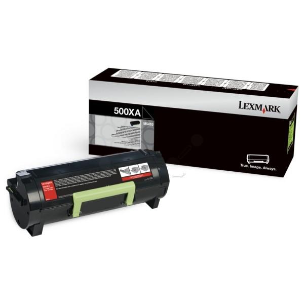 Original Lexmark 50F0XA0 / 500XA Toner-Kit schwarz 10.000 Seiten