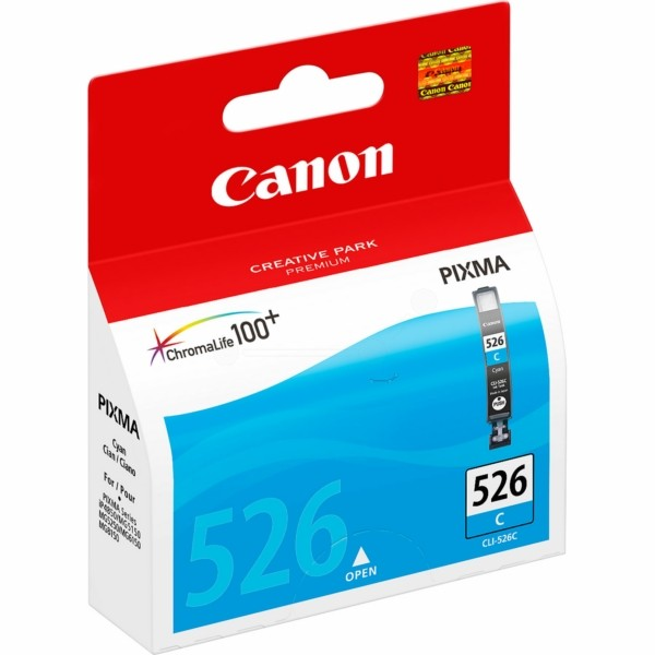 Original Canon 4541B001 / CLI-526 C Tintenpatrone cyan 9 ml 462 Seiten