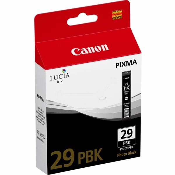 Original Canon 4869B001 / PGI-29 PBK Tintenpatrone schwarz Foto 36 ml 1.300 Seiten