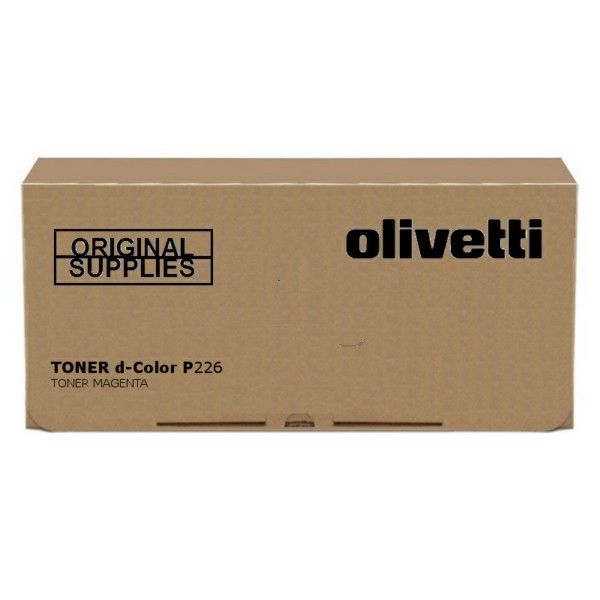 Original Olivetti B0773 Toner magenta 10.000 Seiten