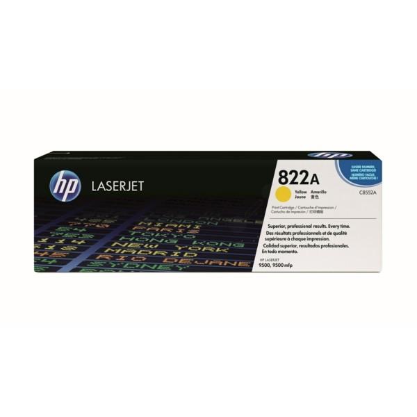 Original HP C8552A / 822A Toner gelb 25.000 Seiten