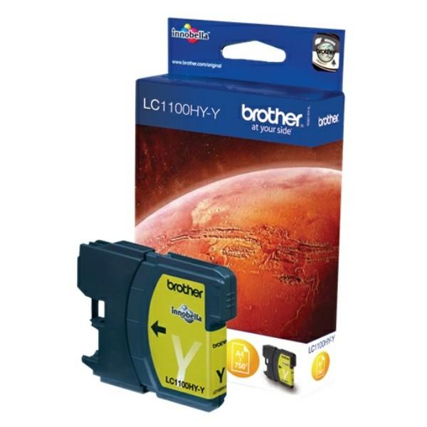 Original Brother LC1100HYY Tintenpatrone gelb High-Capacity 10,1 ml 750 Seiten