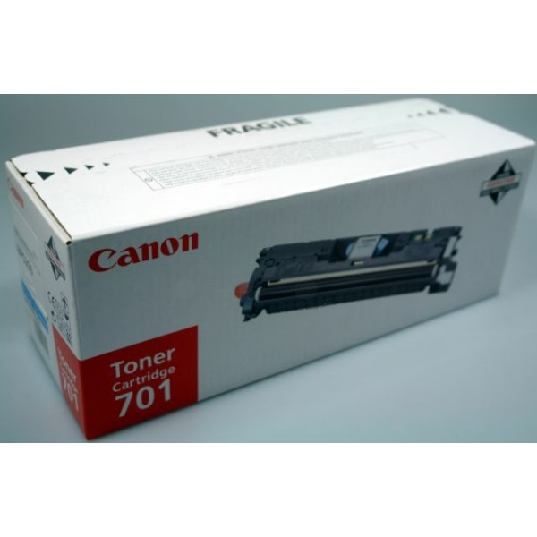 Original Canon 9286A003 / 701C Toner cyan 4.000 Seiten