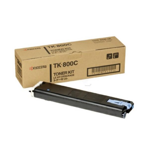Original Kyocera 370PB5KL / TK-800 C Toner-Kit cyan 10.000 Seiten