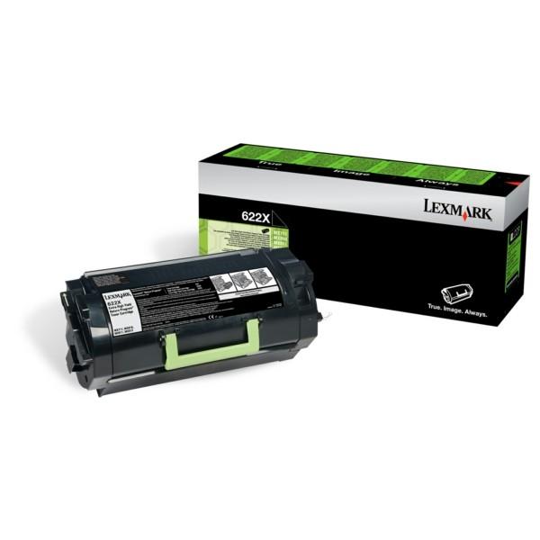 Original Lexmark 62D2X00 / 622X Toner-Kit schwarz return program 45.000 Seiten