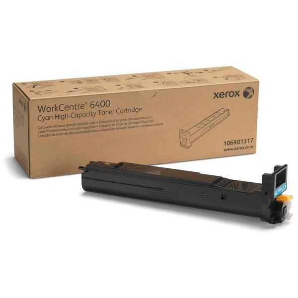 Original Xerox 106R01317 Toner cyan 16.500 Seiten