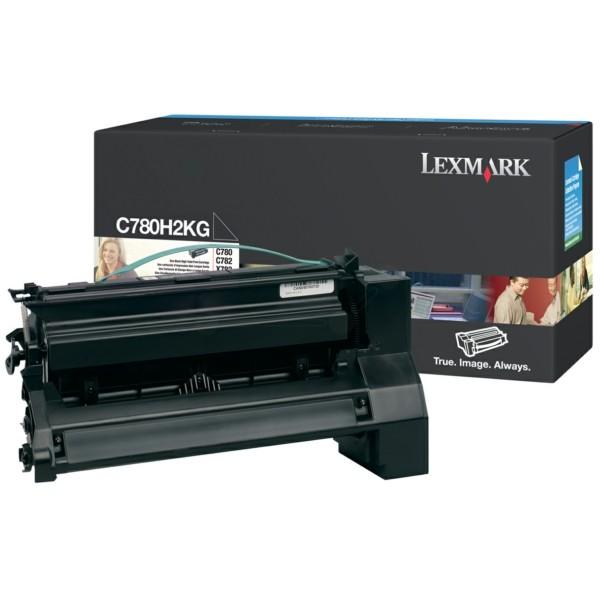 Original Lexmark C780H2KG Tonerkartusche schwarz 10.000 Seiten
