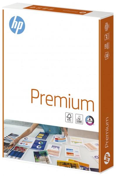 HP Premium ist ein holzfreies, hochweißes, ungestrichenes, multifunktionales Büropapier für leichte Farbanwendungen, geeignet für den Einsatz auf allen gängigen Druckern, Kopierern und Faxgeräten. Die Colorlok Technologie sorgt für extra schnelle Trocknun