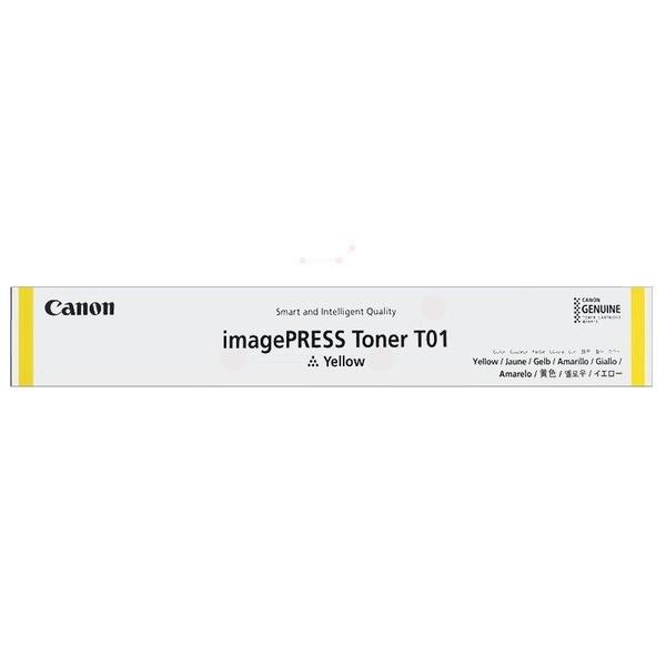 Original Canon 8069B001 / T01 Toner gelb 39.500 Seiten