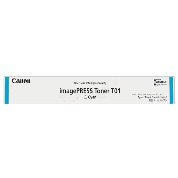 Original Canon 8067B001 / T01 Toner cyan 39.500 Seiten
