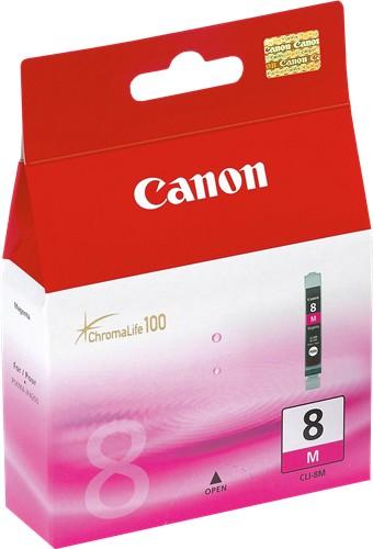 Original Canon 0622B001 / CLI-8 M Tintenpatrone magenta 13 ml 478 Seiten