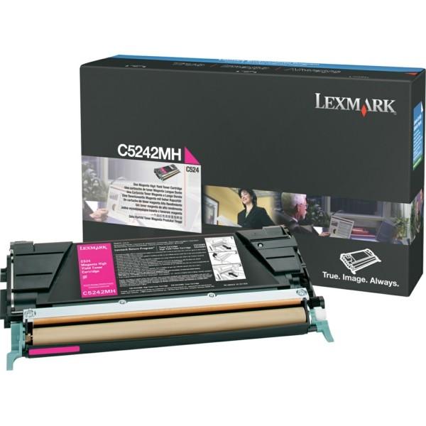 Original Lexmark C5242MH Toner-Kit magenta 5.000 Seiten
