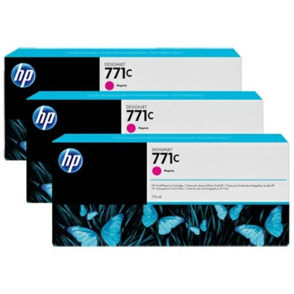Original HP B6Y33A / 771C Tintenpatrone magenta 775 ml