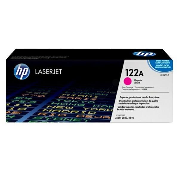Original HP Q3963A / 122A Toner magenta 4.000 Seiten
