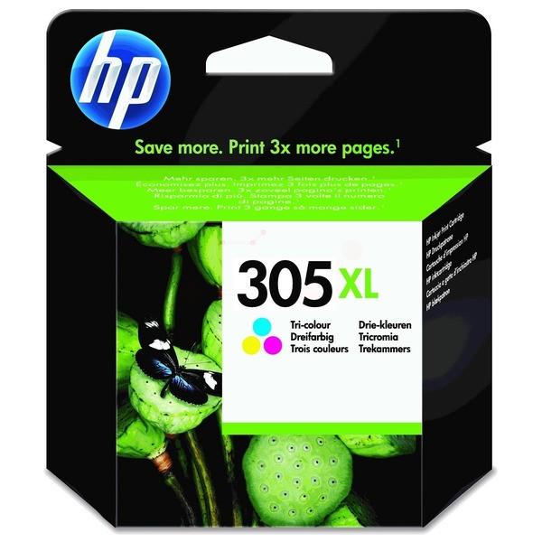Original HP 3YM63AE / 305XL Druckkopfpatrone color 200 Seiten
