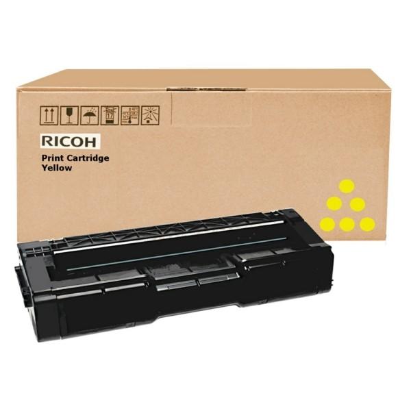 Original Ricoh 406482 / TYPE SPC 310 HE Toner gelb 6.000 Seiten