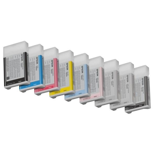 Original Epson C13T603400 / T6034 Tintenpatrone gelb 220 ml