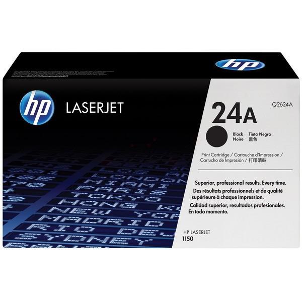 Original HP Q2624A / 24A Tonerkartusche schwarz 2.500 Seiten