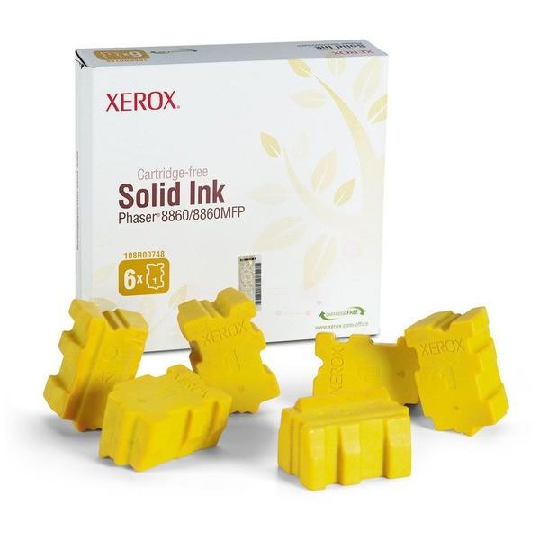 Original Xerox 108R00748 Festtinte in Color-Stix gelb 440 ml 14.000 Seiten