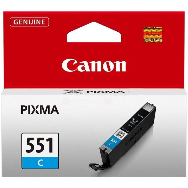 Original Canon 6509B001 / CLI-551 C Tintenpatrone cyan 7 ml 332 Seiten