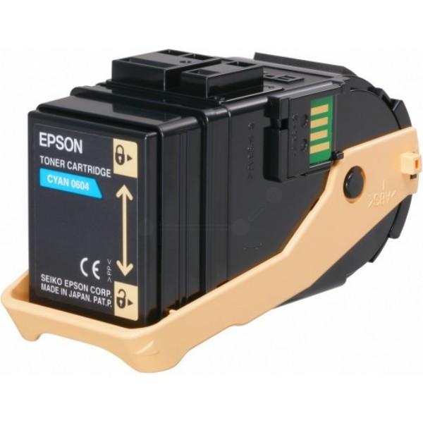 Original Epson C13S050604 / 0604 Tonerkartusche cyan 7.500 Seiten