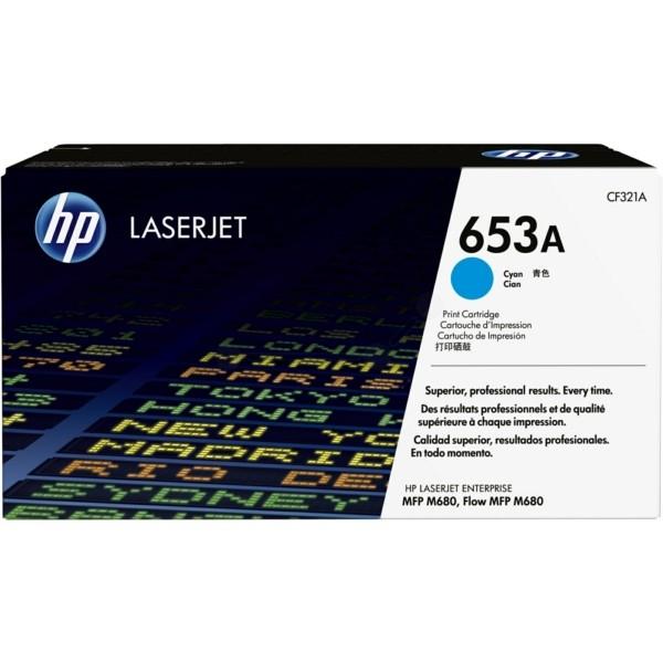 Original HP CF321A / 653A Tonerkartusche cyan 16.500 Seiten