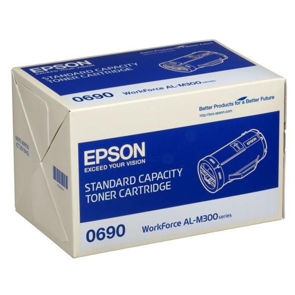Original Epson C13S050690 / 0690 Toner-Kit schwarz 2.700 Seiten