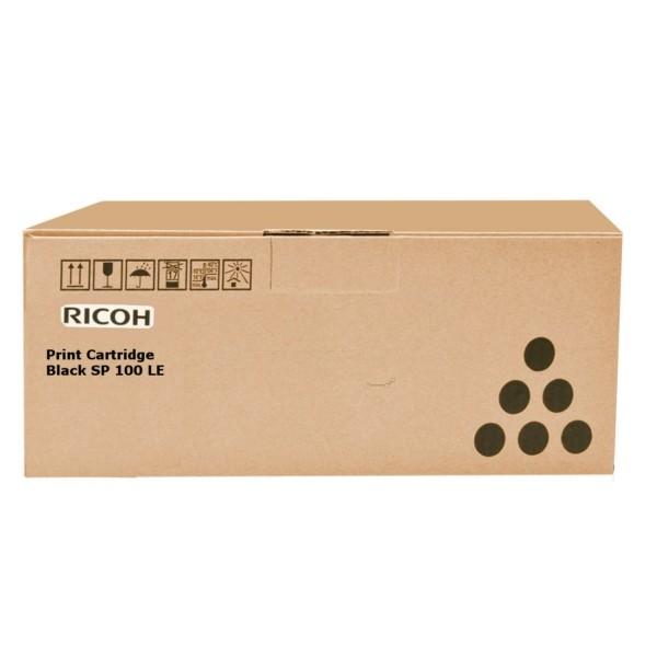 Original Ricoh 407166 / TYPE SP 100 LE Tonerkartusche schwarz 1.200 Seiten