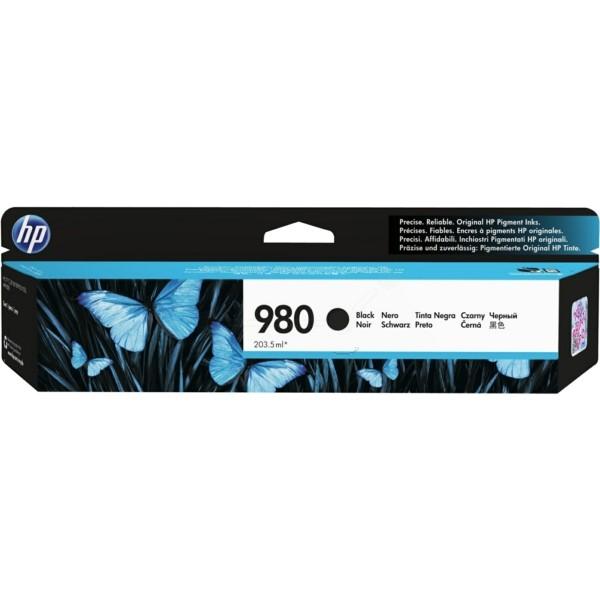 Original HP D8J10A / 980 Tintenpatrone schwarz 203,5 ml 10.000 Seiten