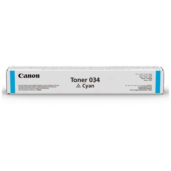 Original Canon 9453B001 / 034 Toner cyan 7.300 Seiten
