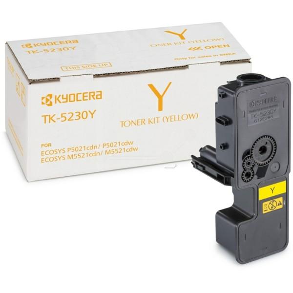 Original Kyocera 1T02R9ANL0 / TK-5230 Y Toner-Kit gelb 2.200 Seiten