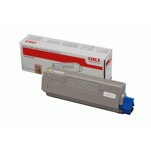 Original OKI 44315305 Toner-Kit gelb 6.000 Seiten