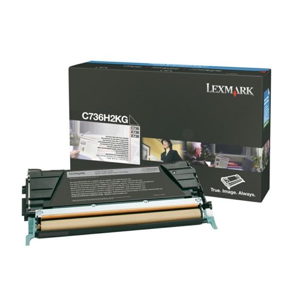 Original Lexmark C736H2KG Toner-Kit schwarz 12.000 Seiten