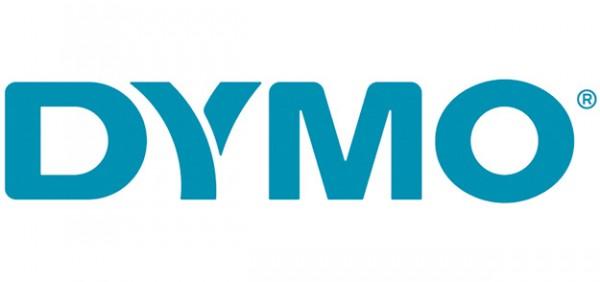Original Dymo 2093097 DirectLabel-Etiketten schwarz auf weiss
