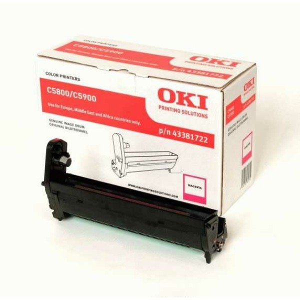 Original OKI 43381722 Drum Kit magenta 20.000 Seiten