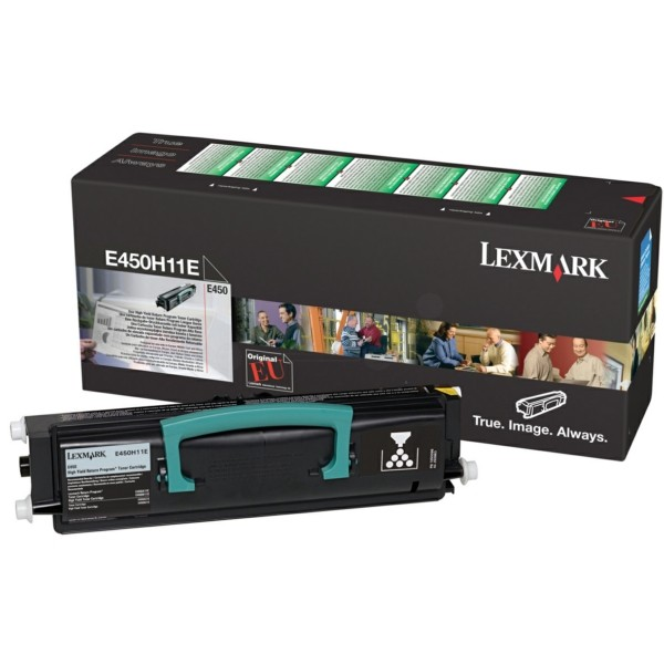 Original Lexmark E450H11E Toner-Kit return program 11.000 Seiten