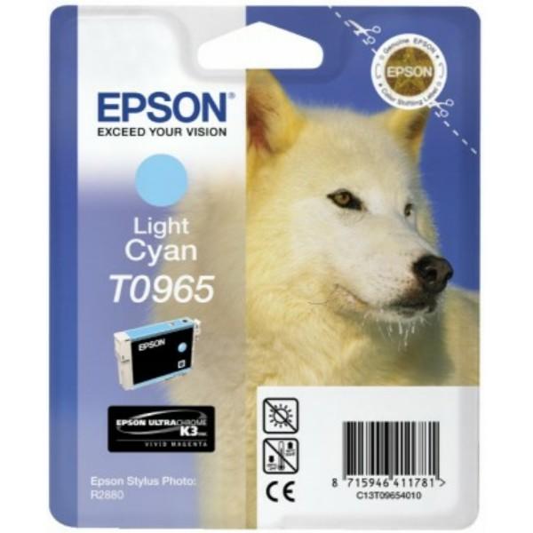 Original Epson C13T09654010 / T0965 Tintenpatrone cyan hell 11,4 ml 865 Seiten
