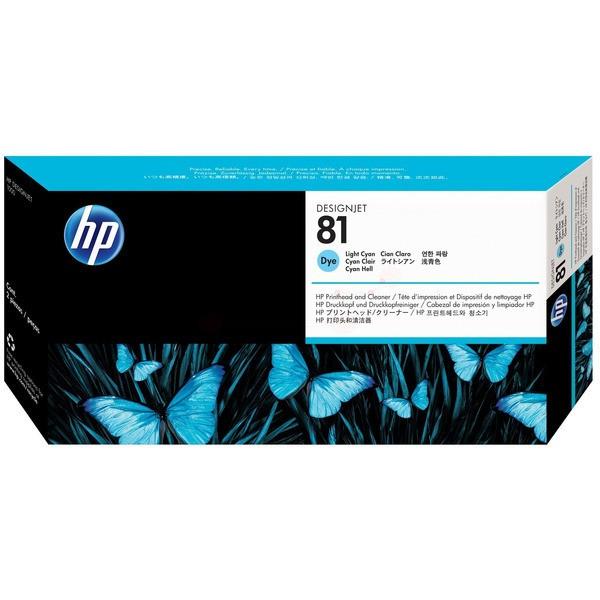 Original HP C4954A / 81 Druckkopfpatrone cyan hell 13 ml