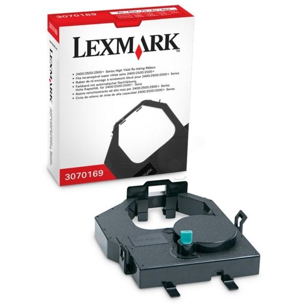 Original Lexmark 3070169 Nylonband mit Nachtränksystem schwarz