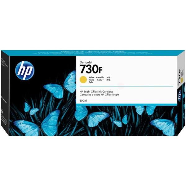 Original HP 1XB25A / 730F Tintenpatrone gelb 300 ml